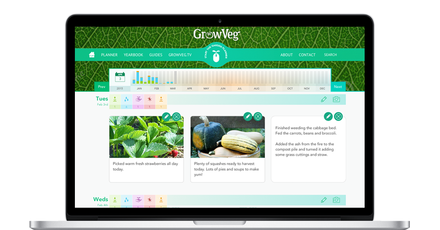 Garden Journal and Diary Apps